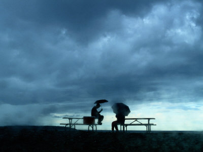 picnic and storm