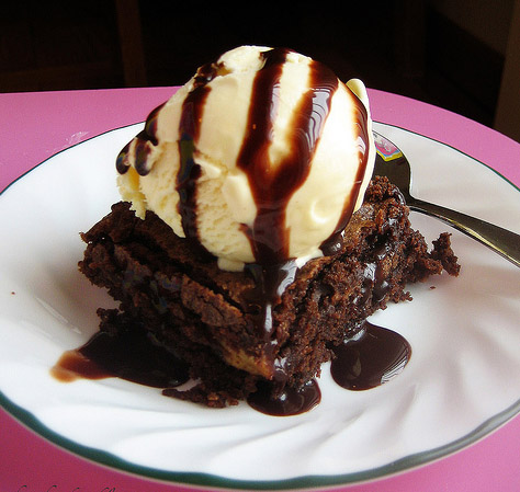 brownie-icecream