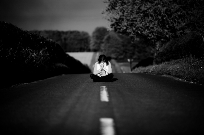 _Black_and_White_Road_