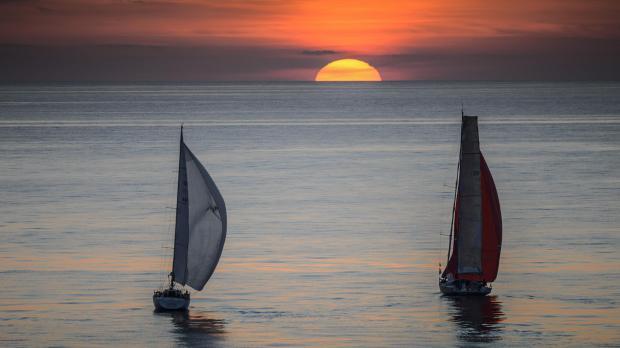 sailing toward morning