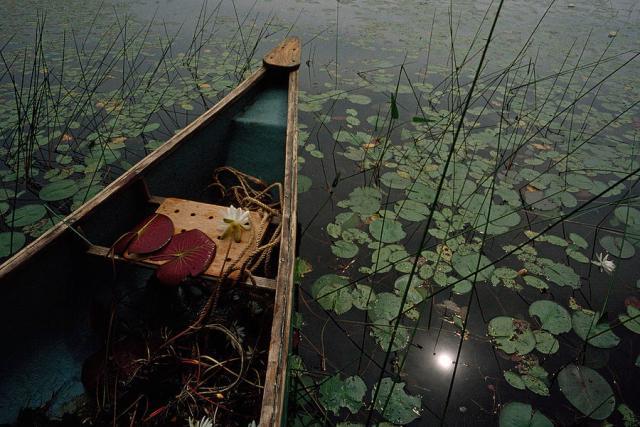 a-canoe