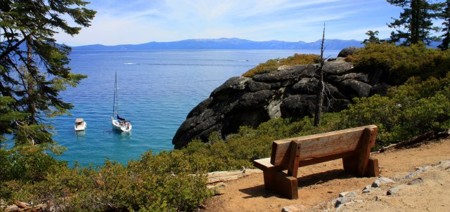 Overlooking Calawee Cove, D. L. Bliss State Park